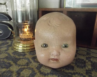 Early Vintage Doll Head