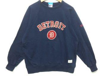 Vintage Detroit Tiger Major League Baseball MLB Jumper