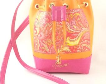 Mini Bucket bag, mini purse, mini tote bag, Bucket Bag, Beach Bag, Boho Bag, Resort Tote, Hobo Tote, Casual Bag, Purse