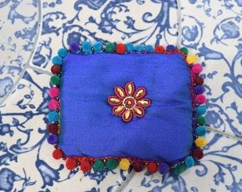 Indian Silk Lavender Sachets