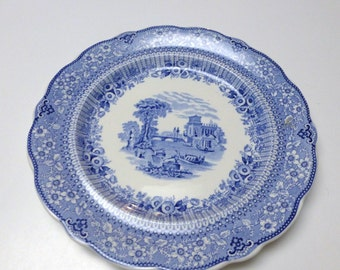 Vintage Woods Burslem England Plate. Reproduction Andrew Jackson. The Hermitage. 10.25 Inches. One (1)