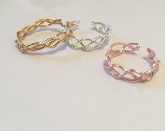 Celtic braided ring