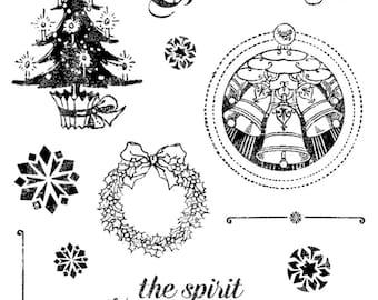 CLEARANCE! Graphic 45 Christmas Carol Stamp Kit