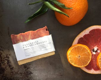 Tangerine and grapefruit SOAP