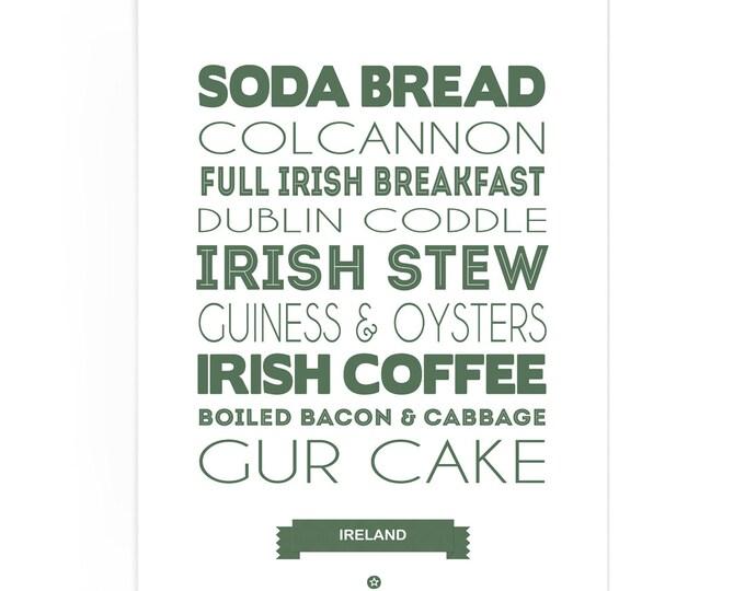 Poster Ireland Foodie