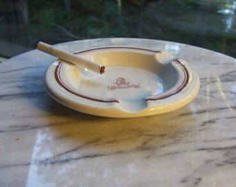 Ironstone Ashtray Nyali Beach Hotel Dunn Bennett & Co., Ltd. England