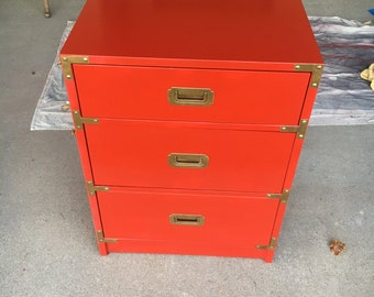 campaign 3 drawer nightstand  picture 2 is available for customizing.