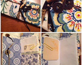 Mini Altered Travel Notebook Journal