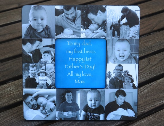 Father\'s Day Collage Frame Personalized Father\'s Day