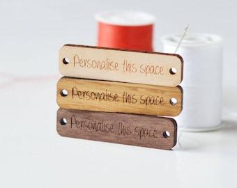 Logo Labels, Personalized tags, Logo tags,  Logo Labels for handmade, Custom Logo tags, Custom wood tags, Logo Tags, Personalized Tags