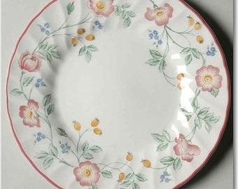 Churchill Briar Rose Salad Plate - Set of 2