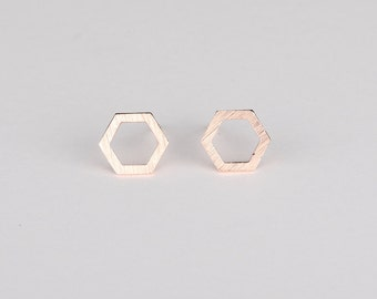 Eva Rose Gold Earrings