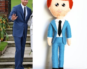 Handmade Prince Harry Doll