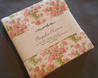 BESPOKE BLOOMS charm pack by Brenda Riddle