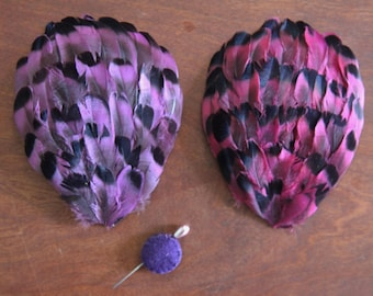 Gorgeous ART DECO French Vintage Flapper 1920's Feathers-Handmade-Fascinator Milliner Feathers