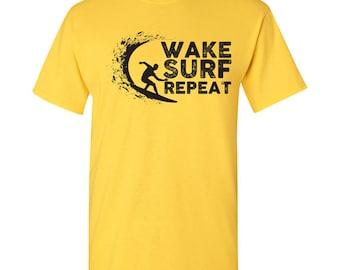 Wake Surf Repeat T Shirt