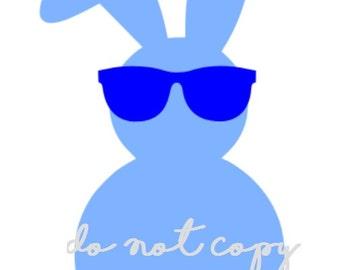 Cool Bunny SVG