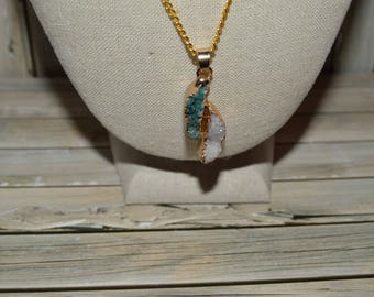 Druzy Agate Necklace - Gemstone Necklace - Druzy Necklace - Agate Necklace - Birthday Gift - Gifts For Her - Gifts For Mum - Gifts For Women