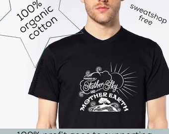 Organic Father Sky & Mother Earth Men's Tee