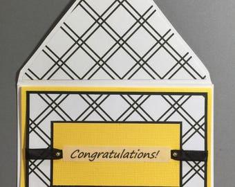 Note Card - Congratulations