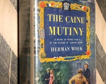 The Caine Mutiny by Herman Wouk (1951) first edition book