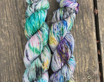 In for a Penny // Super Sheepy Sock // Speckled Yarn // Speckled Sock Yarn