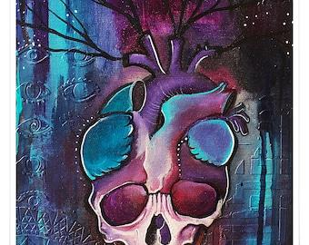 Bleeding Heart - Art Print