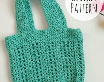 Stella Market Bag, Crochet Pattern, PDF Pattern, Digital Download, Instant Download, Crochet PDF Pattern