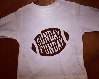 Sunday funday long sleeve shirt