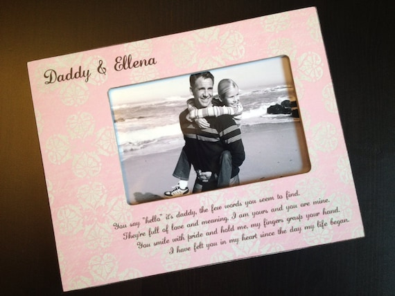 Daddy Daughter Gift Personalized Father\'s Day Gift New Dad