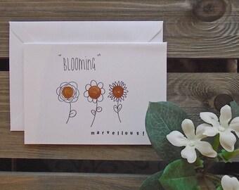 Blooming Marvellous! Greetings Card