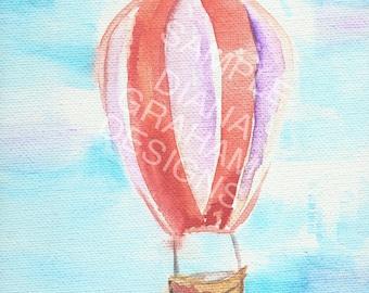 Hot Air on Canvas