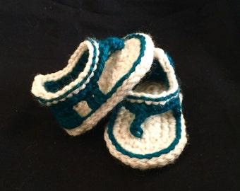 Crochet baby boy sandals, baby boy sandals, crochet sandals, boy sandals, knit baby sandals, baby flip flops, baby booties, baby shower gift