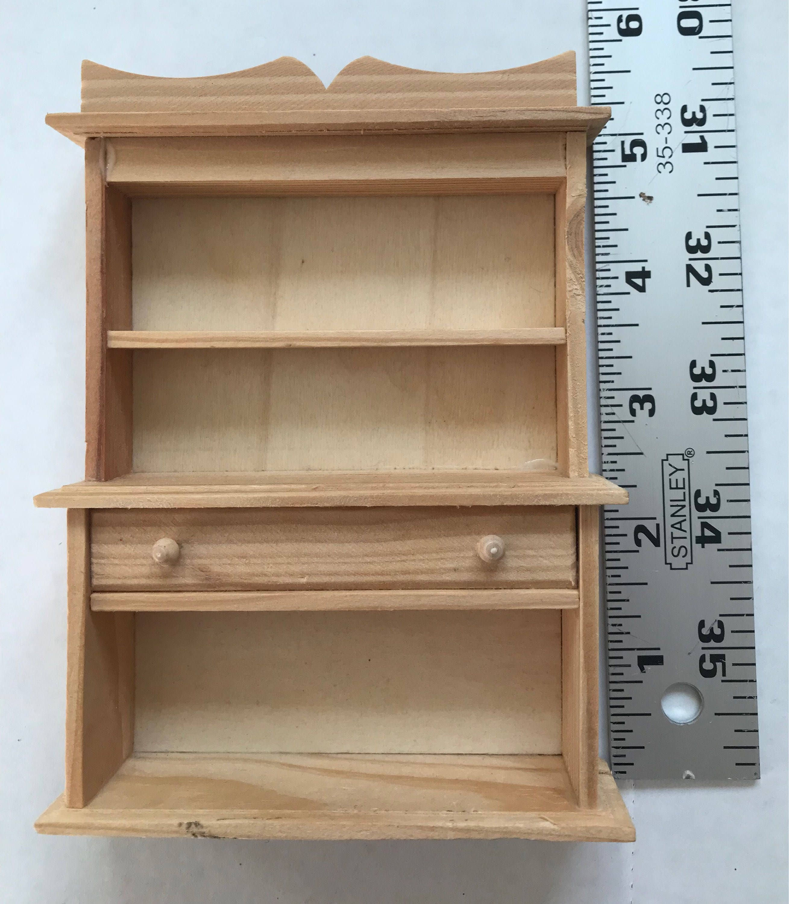 unfinished dollhouse furniture. + $4.00 Shipping Unfinished Dollhouse Furniture