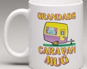 Grandads Caravan Mug - Novelty Mug