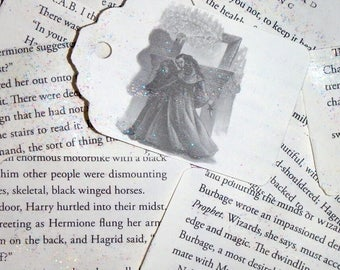 Harry Potter Book Page Gift Tags