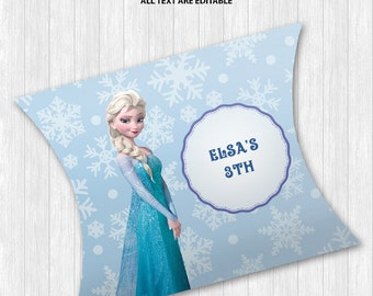 Queen Elsa Pillow Boxes