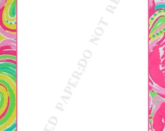 Lilly Pulitzer notepad set (two) , Memo Pad, To Do List