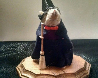 Taxidermy Mouse Witch