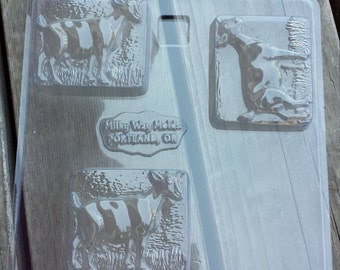 Standing Goat Soap Mold