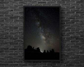 Stonehenge Photo - Starry Sky Photography - Starry Night Photo - Night Sky - Vertical Photo - Astronomy Wall Decor - Starry Wall Decor
