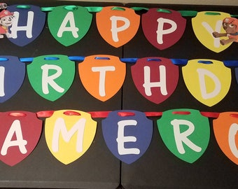 Paw Patrol - Birthday Party Banner