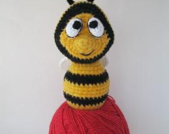 "Crochet  Amigurumi Cute BEE   ""JooJoo"""