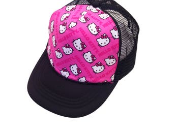 Kitty Trucker Hat-Youth Size