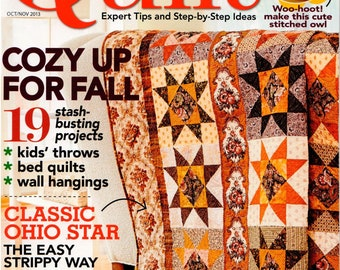 Quilt Magazine - October/November 2013