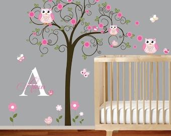 Vinyl Wall Decal  Nursery Wall Decal, Children Wall Decal, Baby Girl Wall Decal, Nursery Wall Art,Wall Decals Nursery