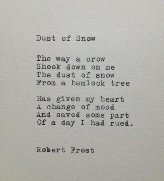 Robert Frost Poetry