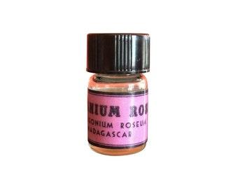 Geranium Rose Essential Oil, Pelargonium roseum, Madagascar - 5/8 dram