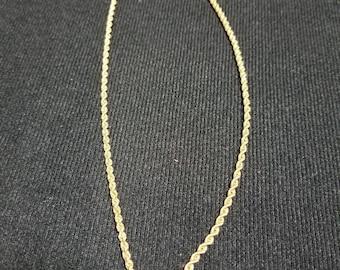 """18"""" 14k Rope Chain"""