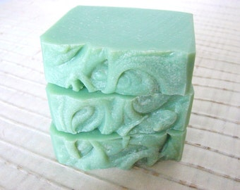 Jaded. Eucalyptus, Sandalwood and Cardamon Cold Process Soap